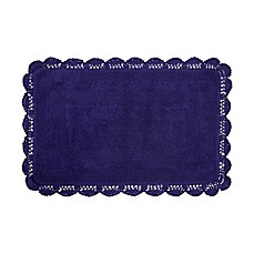 image of Laura Ashley Crochet Bath Rug