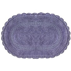 Jessica Simpson 21 Inch X 34 Carlin Reversible Bath Rug In Purple