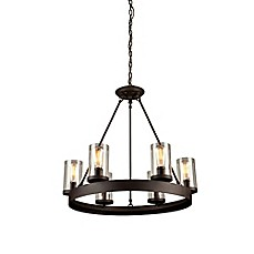 image of Artcraft Lighting Menlo Park 6-Light Chandelier in Oil Rubbed Bronze