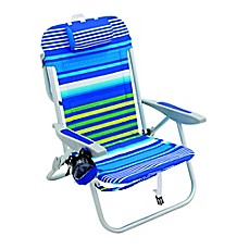 image of 5-Position Backpack Beach Chair