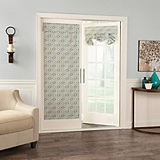 image of Waverly® Lunar Lattice 68-Inch Room-Darkening French Door Panel