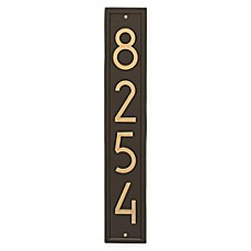 image of Whitehall Products Vertical Modern Wall Plaque