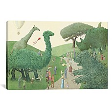 image of iCanvas Summer Park Canvas Wall Art