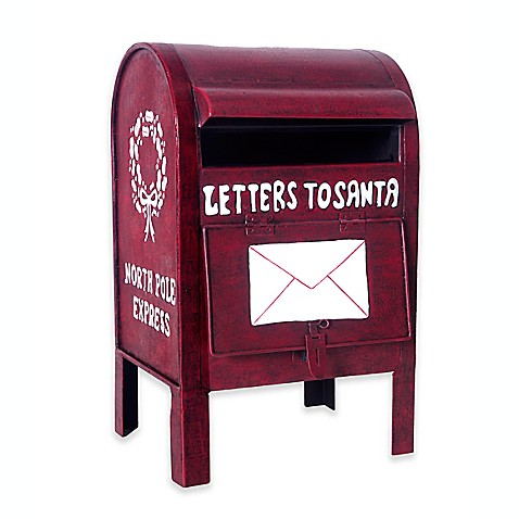 letters to santa mailboxes letters to santa quot metal mailbox d 233 cor in bed bath 17925 | 140832761574403p?$478$