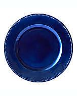 Platos base decorativos en azul, Set de 6