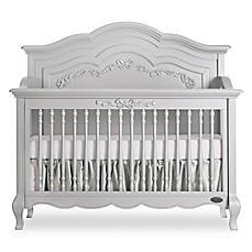 Image Of Evolur™ Aurora 5 In 1 Convertible Crib In Akoya Grey Pearl