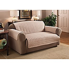 image of innovative textile solutions microfiber loveseat protector