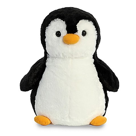 aurora destination nation large penguin plush toy buybuy baby. Black Bedroom Furniture Sets. Home Design Ideas
