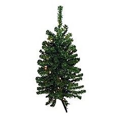 2 Foot Pre Lit Christmas Trees