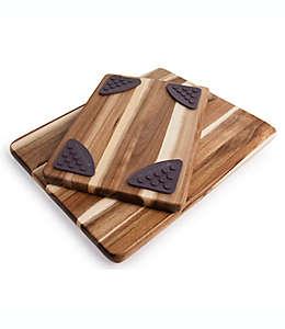 Tablas para picar de acacia , Architec Gripperwood™ Set de 2