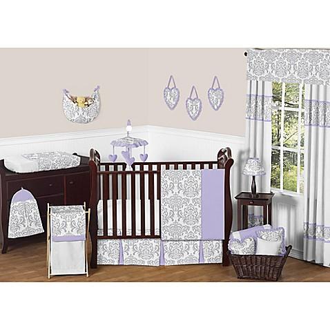Sweet jojo designs elizabeth crib bedding collection bed for Sweet jojo designs bathroom