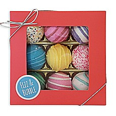 image of Fizz & Bubble 9-Piece Bath Assorted Truffle Gift Set