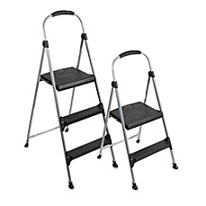 image of cosco signature premium folding step stool - Step Stool