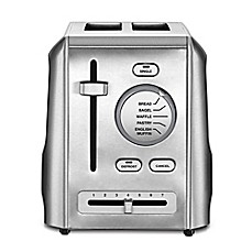 image of Cuisinart® 2-Slice Metal Toaster in Stainless Steel