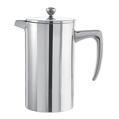 buy grosche dublin 8 cup stainless steel french press from bed bath beyond. Black Bedroom Furniture Sets. Home Design Ideas