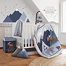 image of Levtex Baby Trail Mix 4-Piece Crib Bedding Set