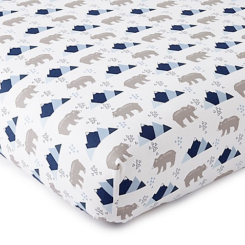 Levtex Baby Trail Mix Fitted Crib Sheet Buybuy Baby