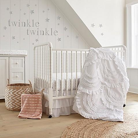 Levtex 174 Baby Skylar Crib Bedding Collection In White