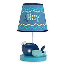 image of Lambs & Ivy® Ahoy Lamp Base and Shade