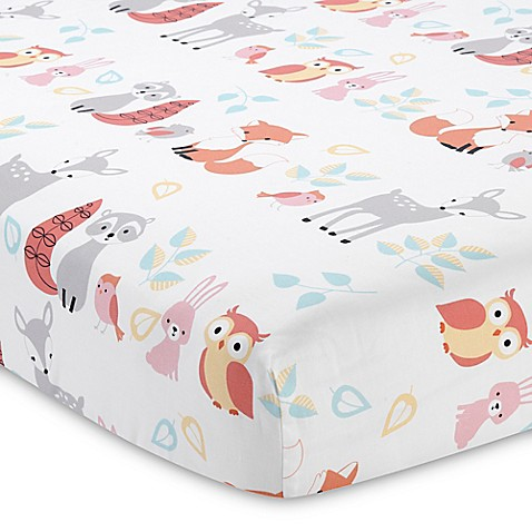 Lambs Amp Ivy 174 Little Woodland Forest Fitted Crib Sheet