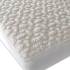 image of Forty Winks™ Aero-Weave™ Pebble-Puff™ Tencel® Lyocell® Crib Mattress Pad