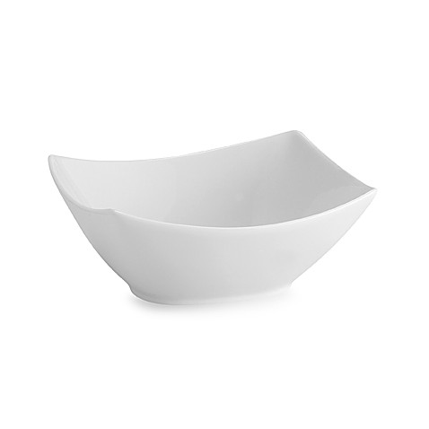 Everyday White® by Fitz and Floyd® Small Rectangular 4-Point Serving Bowl