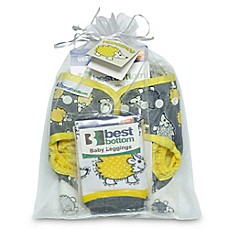 image of Best Bottom 3-Piece Hedgehog Diapers Gift Set