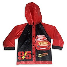 image of Nickelodeon® Size 2T-4T Cars Rain Slicker in Red