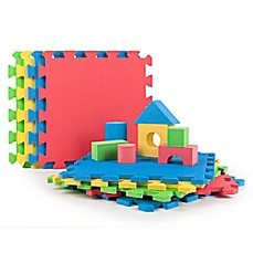 image of Tadpoles™ 9-Piece Play Mat with Blocks