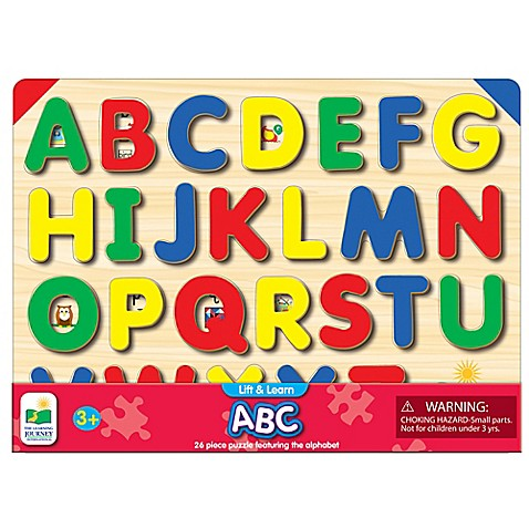 The Learning Journey Lift Amp Learn Abc Puzzle Buybuy Baby