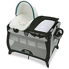 image of Graco® Pack 'n Play® Quick Connect Portable Playard with Bassinet in Darcie