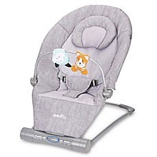 image of Evenflo® Lyric Musical Bouncer in Grey
