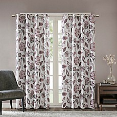 image of SunSmart Camille Grommet Top Room Darkening Window Curtain Panel