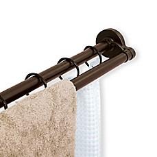 Image Of TITAN™ NeverRust™ Aluminum Double Straight Shower Rod