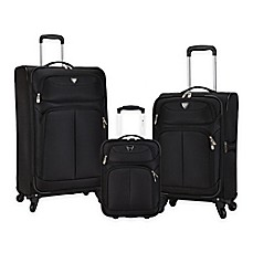 image of Travelers Club® Hartford 3-Piece Soft Side Luggage Set