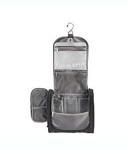 Organizador de viaje de poliéster Latitude 40°N™ para colgar color negro