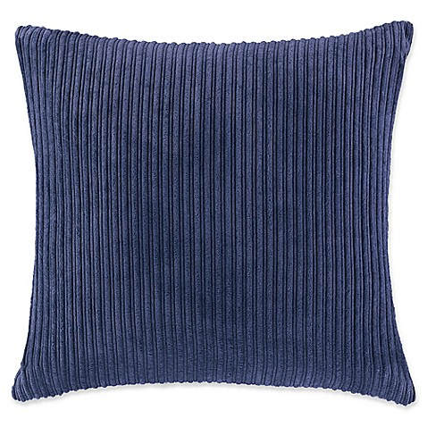 Buy Madison Park Jackson Square Throw Pillow in Navy from Bed Bath & Beyond