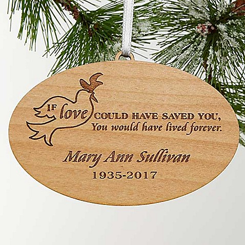 forever loved memorial christmas ornament bed bath beyond