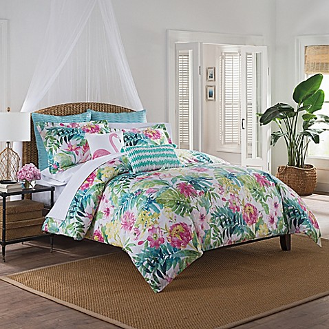 Coastal Life Barbados Duvet Cover Set Bed Bath Amp Beyond