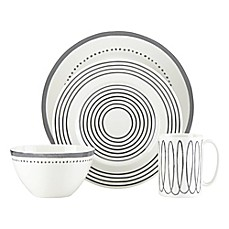 image of kate spade new york Charlotte Street™ West Dinnerware Collection in Slate