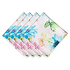 image of Bardwil Linens Floral Garden Napkins (Set of 4)