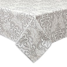 image of Bardwil Linens Carina Indoor/Outdoor Tablecloth