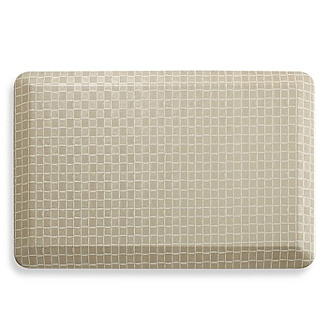 Therapedic 174 20 Inch X 32 Inch Kitchen Mat In Taupe Bed