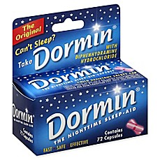 image of Dormin® 72-Count Nighttime Sleep-Aid Capsules
