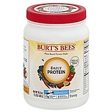 image of Burt's Bees® Plant-Based Daily Protein .19 oz. Vanilla Flavor Protein Shake