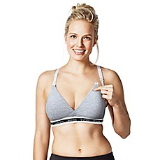 image of Bravado Designs Original Nursing Bra in Heather Grey
