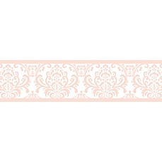 image of Sweet Jojo Designs Amelia Wallpaper Border in Pink/White