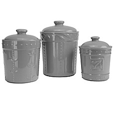 Image Of Signature Housewares Soro 3 Piece Canister Set