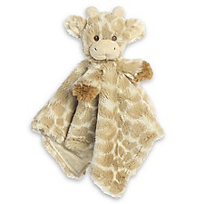 image of Aurora® Loppy Giraffe Blankee Plush Toy
