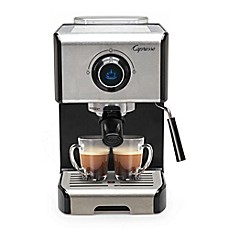 image of Capresso® EC300 Espresso & Cappuccino Machine in Black/Stainless Steel